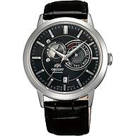 Đồng hồ Nam tự động dây da Orient SUN and MOON FET0P003B0 thumbnail
