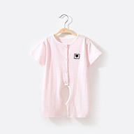 Bộ body suit cotton mỏng cho bé 0-9 tháng tuổi - quần áo sơ sinh thumbnail