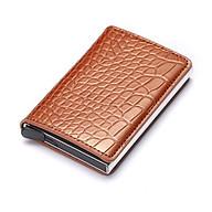 Bóp ví thẻ tín dụng, Bóp thẻ tín dụng dạng hộp có vỏ gập da cao cấp, công nghệ chống trộm mới RFID VTDV89 thumbnail