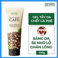 Gel tẩy da chết dành cho mặt sáng da sạch mụn chiết xuất cà phê Cocayhoala 100g thumbnail