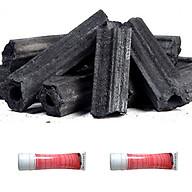 Combo 5kg than không khói, than sạch nướng BBQ loại xuất khẩu Và 2 túy cồn nhão thumbnail