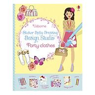 Usborne Sticker Dolly Dressing Design Studio Party Clothes thumbnail