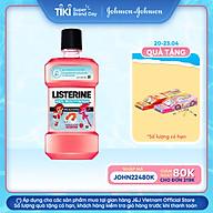 Nước Súc Miệng Listerine Kids dành riêng cho trẻ trên 6 tuổi 250ml - thumbnail