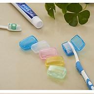 Combo 3 nắp đậy bàn chải đánh răng, hộp bọc đầu bảo vệ bàn chải mang đi du lịch siêu tiện lợi - GIAO MÀU NGẪU NHIÊN thumbnail