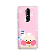 Ốp lưng dẻo cho điện thoại Nokia 6.1 plus X6 - 01171 7868 DUCK02 - In hình Vịt con đáng yêu - Hàng Chính Hãng thumbnail
