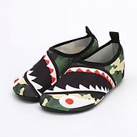 Giày Đi Dưới Nước Trẻ Em chống trơn trượt, gọn nhẹ, sử dụng nhiều lần, phù hợp đi du lich, thân thiện với môi trường, chịu nước tốt và nhanh khô, nhiều màu lựa chọn (SK016) shark thumbnail