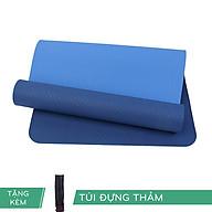 Thảm Yoga TPE RL ECO 6mm 2 lớp Màu Xanh Dương Tặng Kèm Túi thumbnail