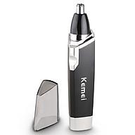 Máy tỉa lông mũi Kemei KM-6512 sử dụng pin AA tiện lợi có thể dùng tỉa ria mép, tóc mai chuyên dụng thumbnail