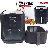 Nồi Chiên Không Dầu 4.5L Povena PVN-4522 Công Nghệ Chiên Rapid Air Giảm Tới 80% Lượng Chất Béo Cho 5-8 Người-Hàng Chính Hãng thumbnail