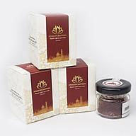 Combo 3 hộp Kingdom saffron nhụy hoa nghệ tây Iran loại super negin thượng hạng (hộp 1 gram) thumbnail