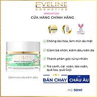 Kem Eveline Bio Vegan Actively Mattying hũ 50ml dưỡng ẩm trắng da, ngăn ngừa lão hóa và kiểm dầu, dành cho người da dầu thumbnail