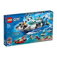 Đồ chơi LEGO City Tàu Tuần Tra Cảnh Sát 60277 thumbnail
