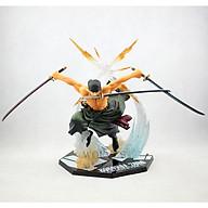 Mô hình nhân vật thợ săn hải tặc Roronoa Zoro - tam kiếm phái - Đảo hải tặc One Piece thumbnail