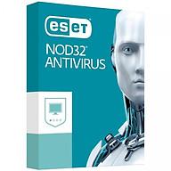 Phần mềm diệt Virus Eset Nod32 Antivirus 1 User 1 Year - Bản quyền 1 Máy 1 Năm - Hàng Chính Hãng thumbnail