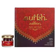 Surkh Saffron 1 Gram 100% Pure I Natural I Untouched Premium Grade 1 Saffron Kesar thumbnail
