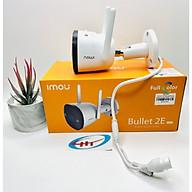 Camera Ngoài Trời Imou Bulet 2E 4MPX Chuẩn nén H265 Có Màu ban đêm ,kèm thẻ nhớ 64G- Hàng chính hãng thumbnail