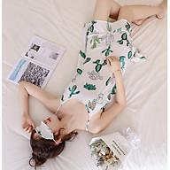 Váy ngủ, váy mặc nhà, váy 2 dây vải mềm mát v26 thumbnail