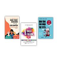 Bộ sách bứt phá kinh doanh ( Nghệ Thuật Bán Hàng Bằng Câu Chuyện , Hành trình kinh doanh trực tuyến 28 ngày , Cách Để Đạt 1 Triệu Follow Chỉ Trong 30 Ngày ) thumbnail