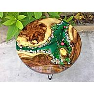 Bàn Cafe Epoxy Resin - Bàn Gỗ Vẽ Cá 3D thumbnail