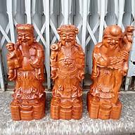 Bộ tam đa gỗ Hương cao 50cm thumbnail