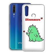 Ốp lưng dẻo cho điện thoại Vivo Y12 - 01222 7877 DINOSAURS04 - Khủng long dễ thương - Hàng Chính Hãng thumbnail