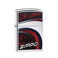 Bật Lửa Zippo Leaves High Polish Chrome Chính Hãng Usa thumbnail