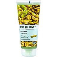 Tẩy tế bào chết cơ thể chiết xuất sả và cà phê xanh Fresh Juice body peeling lemongrass & green coffee 200ml thumbnail
