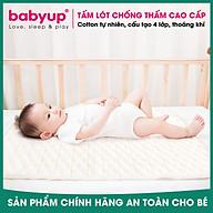 Tấm lót chống thấm cho bé dùng được 2 mặt. Miếng lót chống thấm xuống nệm, thoáng khí, hàng chính hãng - EUROSTANIBO20 thumbnail