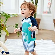 Bộ đồ bơi body dành cho bé trai đi biển hình khủng long cực dễ thương mã C42 thumbnail
