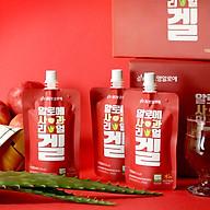 Nước nha đam hữu cơ Hàn Quốc vị táo thumbnail