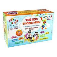 Bộ Thẻ Học Thông Minh 416 Thẻ Song Ngữ Anh-Việt ( Tặng 1 lục lạc đồ chơi ) thumbnail