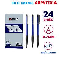 Bút bi bấm M&G- Xanh dương- 0.7mm ABPV7501A thumbnail