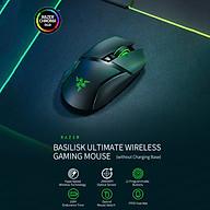 Razer Basilisk Ultimate Wireless Mouse HyperSpeed Wireless Technology 20000DPI FOCUS+ Optical Sensor (without Charging thumbnail