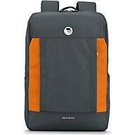 Balo laptop 15.6 inch Mikkor Kalino Backpack Graphite Orange thumbnail