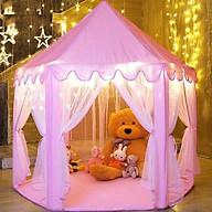 Lều công chúa cho bé yêu tặng kèm đèn nháy sao 3 mét trang trí thumbnail