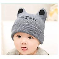 Mũ Len Hình Mặt Mèo Đáng Yêu Cho Bé 3 Tháng Đến 2 Tuổi thumbnail