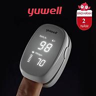 Máy đo nồng độ oxy trong máu SPO2 và nhịp tim Yuwell YX102 thumbnail