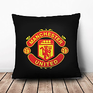 Gối Ôm Vuông Manchester United Nền Đen GVST021 (36 x 36 cm) thumbnail