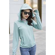 Áo khoác chống nắng nữ chống tia UV cực tốt, thoáng mát, mềm mịn, co dãn 4 chiều thumbnail