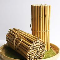 Ống hút cỏ sậy khô - 500 ống thumbnail