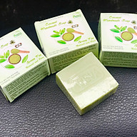 Xà phòng handmade - Xà bông Trà xanh ( 3 bánh ) - Adeva Naturals - Giúp làm sạch da, tăng độ ẩm cho làn da, cho da mềm mịn thumbnail