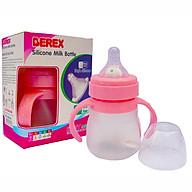 Bình sữa silicon mềm cho bé BEREX 150ml- màu ngẫu nhiên thumbnail