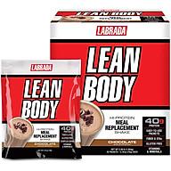 Bữa ăn thay thế thông minh Labrada LeanBody - Hỗ trợ tăng cơ giảm mỡ, nhanh chóng, tiện lợi, đầy đủ chất dinh dưỡng (Gói) thumbnail