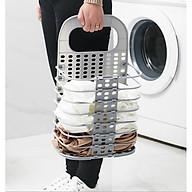 Rổ treo quần áo xếp gọn, giỏ treo đồ đa năng tặng kèm miếng dán hút chân không chắc chắn GD186-RTDoXG thumbnail