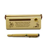 Bộ bút gỗ cao cấp tặng bạn bè - mẫu 02 (Kèm hộp đựng sang trọng) thumbnail