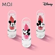 Son Dưỡng Môi Có Màu Mickey Disney Magic Lips Son Môi M.O.I Hồ Ngọc Hà 3 Màu Đẹp Siêu HOT Cấp Ẩm Mềm Môi Căng Mọng Giữ Ẩm Lâu Màu Tự Nhiên thumbnail