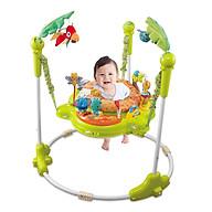 Ghế Nhún Tập Đứng Konig Kids Có Đèn Nhạc (Kèm Pin) Màu Xanh KK63568B thumbnail