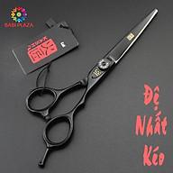 Kéo cắt Firesmith Black 6.0 inch chuyên dụng, cắt sắc ngọt không cắn tóc. thumbnail