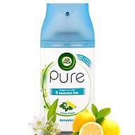 Bình xịt tinh dầu thiên nhiên Air Wick Lemon Flower 250ml QT05935 - hương hoa chanh thumbnail