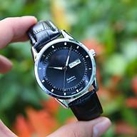Đồng hồ nam dây da SE0006888 - Hiển thị lịch ngày thứ tiện lợi - Thiết kế hiện đại, trẻ trung - Chống nước, chống xước thumbnail